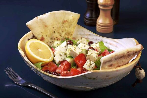 Greek salad Union Jack Pub