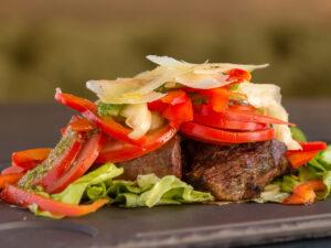 Summer Beef Steak Union Jack Pub