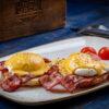 Benedict Eggs Union Jack Pub
