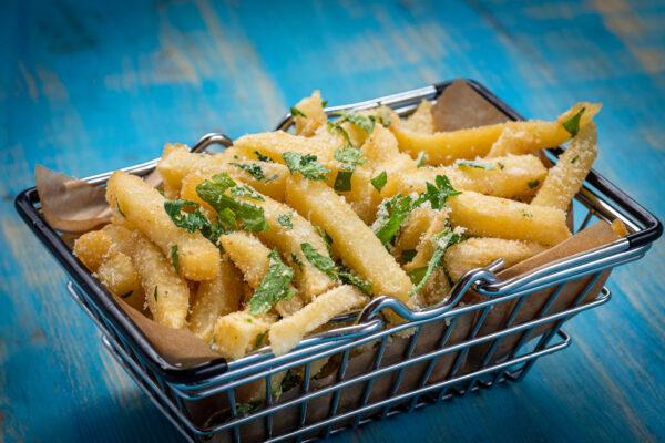 cheesy fries union jack pub