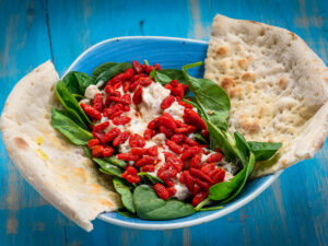 chicken salad with goji berries