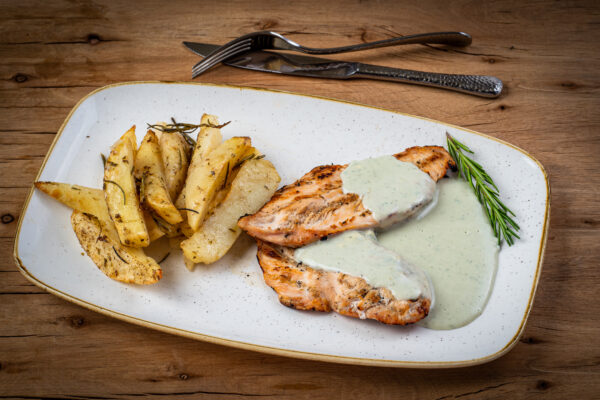 four chees grilled chicken