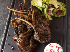 Lamb Chops Union Jack Pub