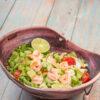 Shrimps & Avocado Salad Union Jack Studio
