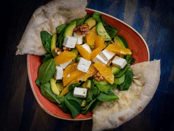 Avocado & Orange Salad Union Jack Pub