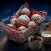 Homemade Donuts Nutella/Jam Union Jack Pub