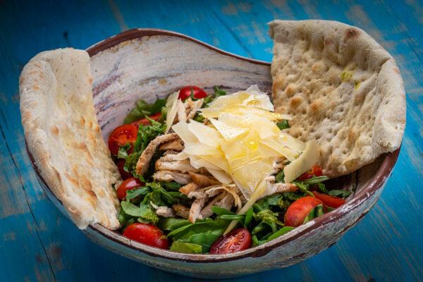 union jack caesar salad