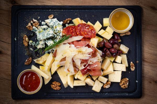 wine lover's platter